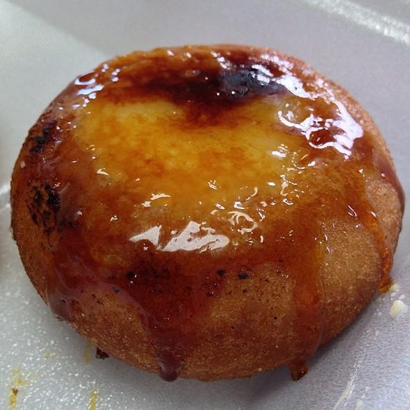 Crème Brûlée Cake Donut