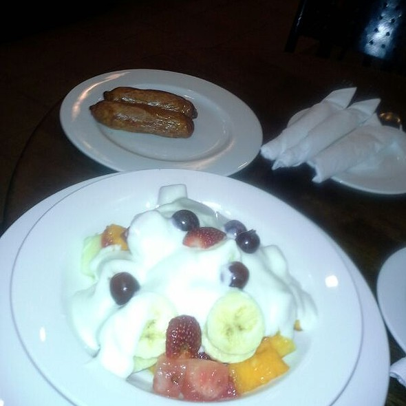 Fruit Salad With Yoghurt @ Java Sarit