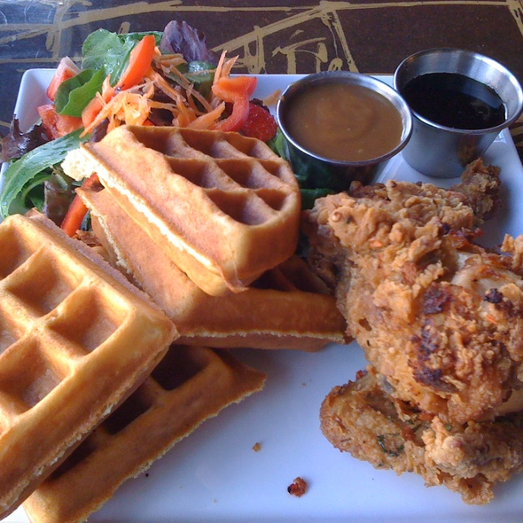 Southern Fried Chicken And Waffles