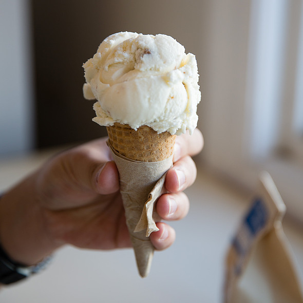 Secret Breakfast Ice Cream @ Humphry Slocombe