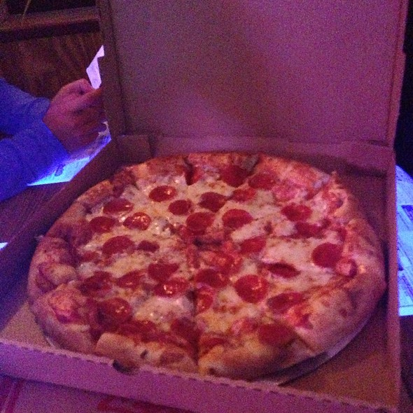 Pepperoni Pizza @ Pines Lounge & Restaurant