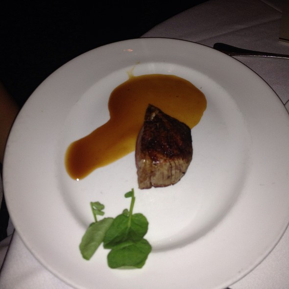 Half Of A Filet Mignon @ The Capital Grille