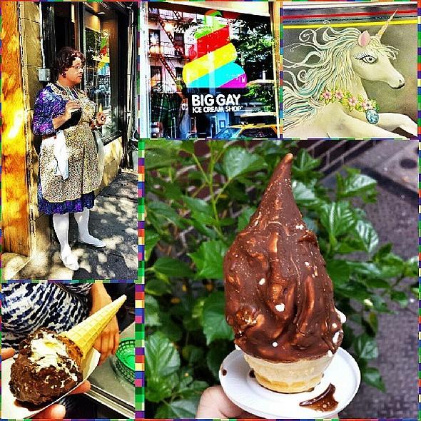 Salty Pimp & American Globs @ Big Gay Ice Cream Shop