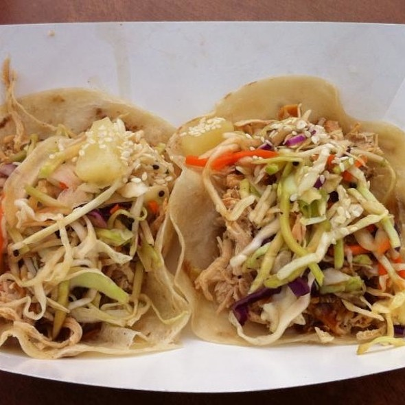 Japanese Chicken Taco @ The Rolling Chef