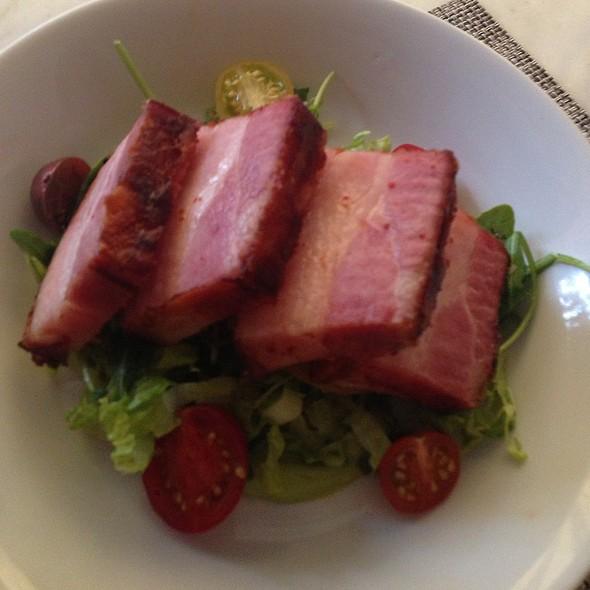 Bacon Wrapped Bacon @ FIG Restaurant Santa Monica