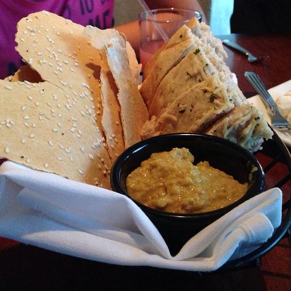 "Curry Hummus @ Sarento's Top of the ""I"""