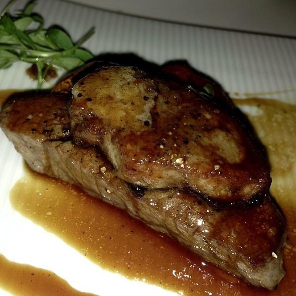 Beef & Foie Gras @ Katsuya by Starck