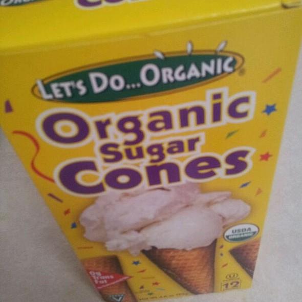 Organic Sugar Cones