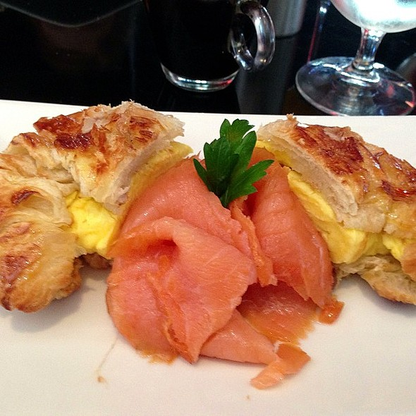 Breakfast Croissantini @ The Bazaar by José Andrés
