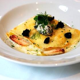Crab Lasagna