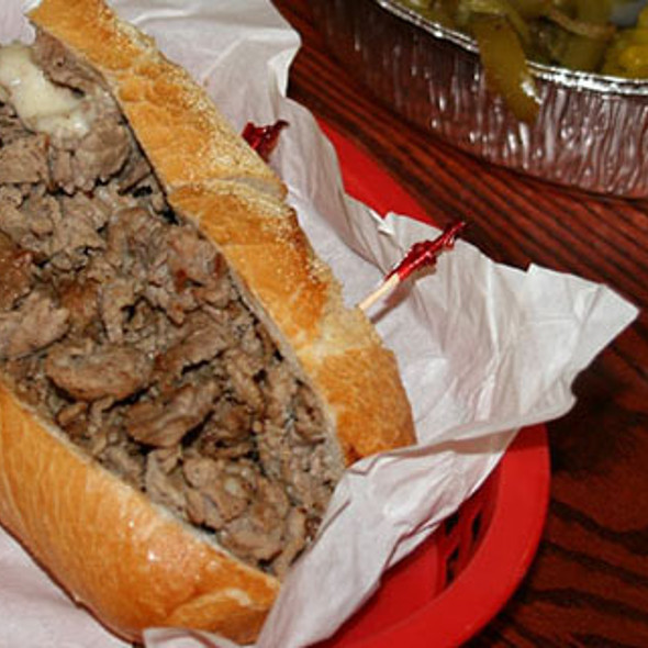 Philly Cheesesteak @ Tat's Delicatessen