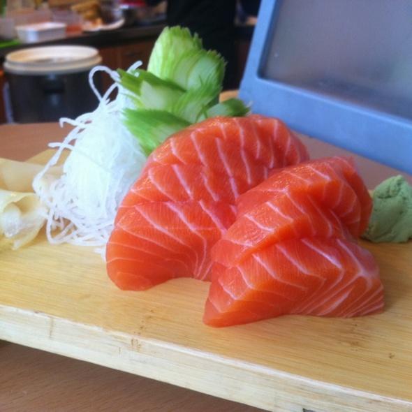 Sake Sashimi @ Ichiban Japanese Bistro