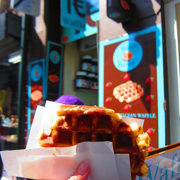 Belgium Waffle @ Planet Waffle