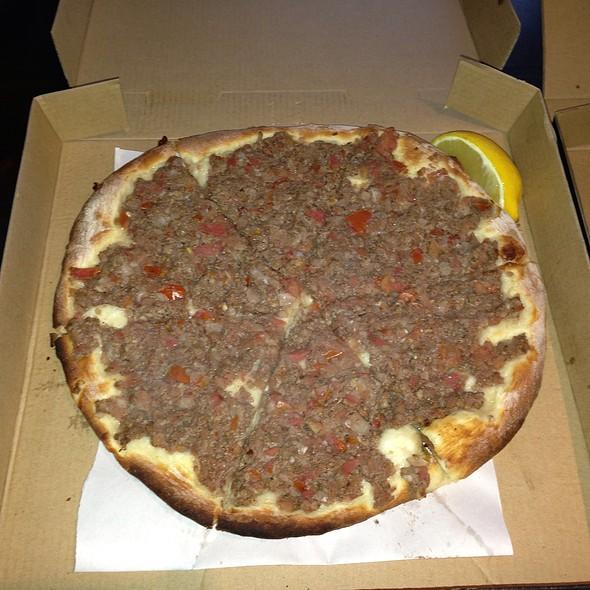 Lahmacun Lebanese Pizza @ Lebanese Pizza Banksia Bakery