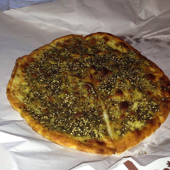 Manoush @ Lebanese Pizza Banksia Bakery