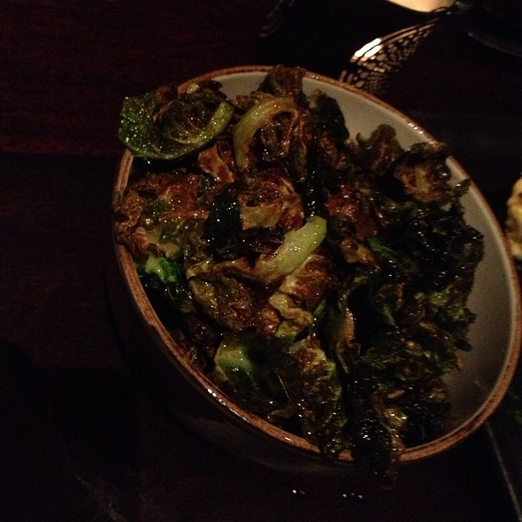 Brussels Sprout Chips @ Park Tavern