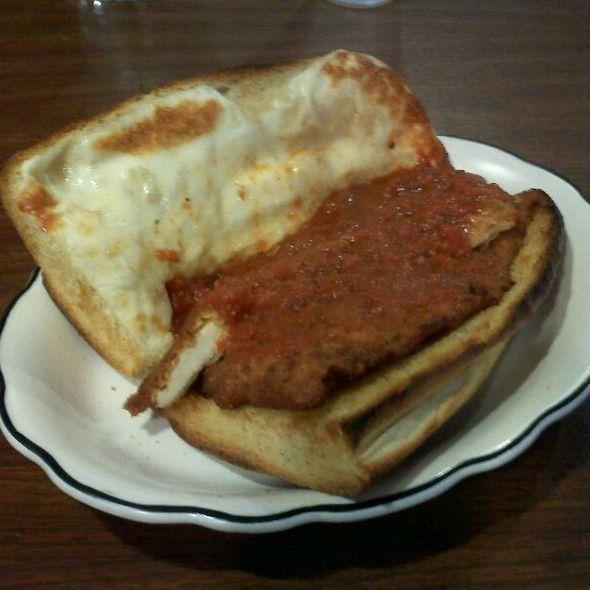 Chicken Parmesan Sandwich @ Lucisano's Pizza