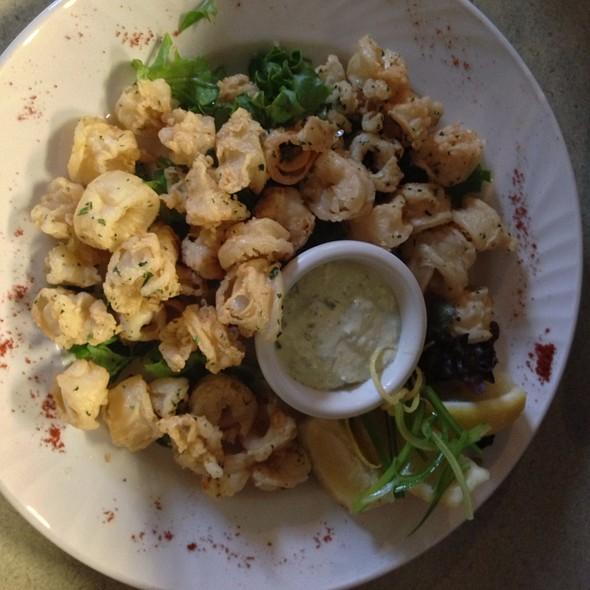 Calimari Fritti With Green Onion Aioli - Cafe Carlo, Winnipeg, MB