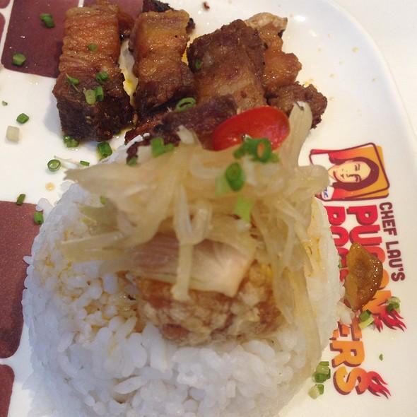 Liempo Roast With Rice @ Chef Lau's Pugon Roasters