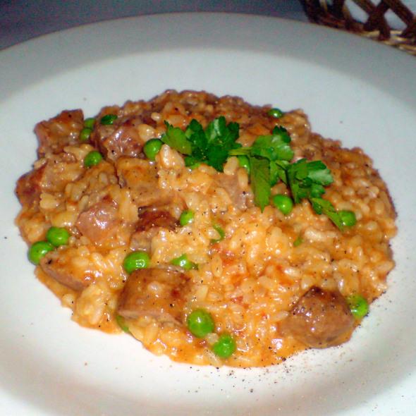 Sausage risotto @ Cafe Pro Bono