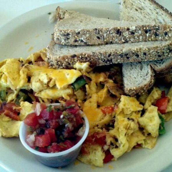 Eggs SOB @ Three Sisters Cafe