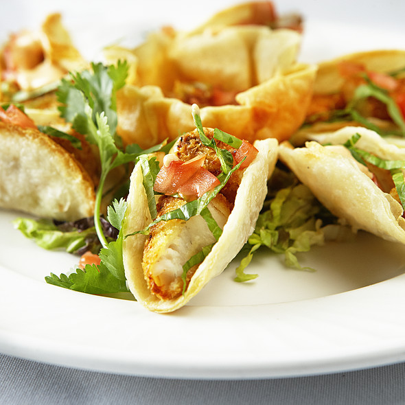 fish tacos - Cafe Carlo, Winnipeg, MB