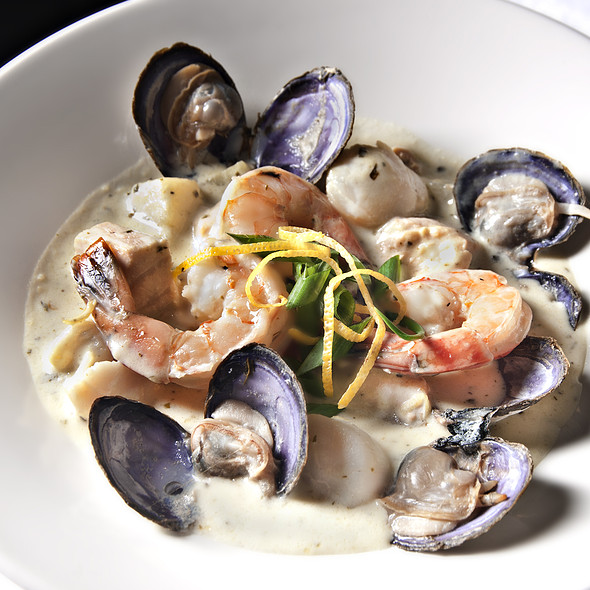 Seafood Chowder - Cafe Carlo, Winnipeg, MB