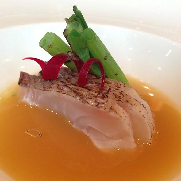 Charred Snapper Nuta @ Tomo Japanese Restaurant