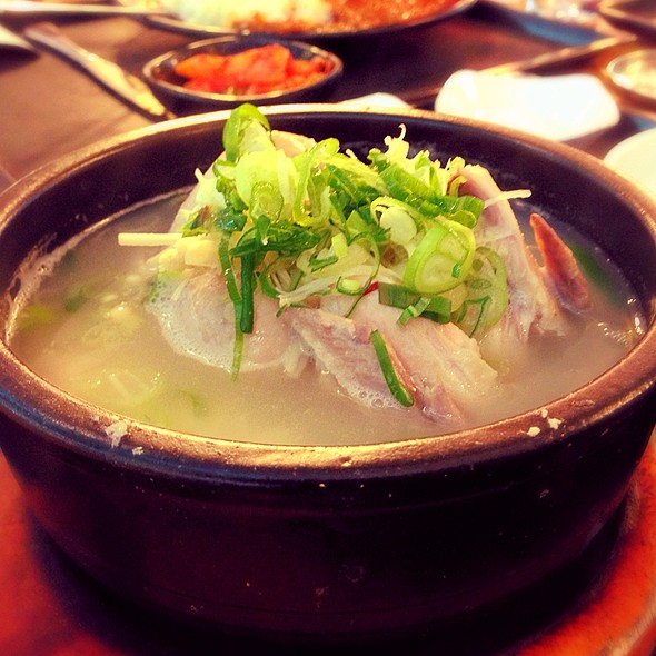 Chicken Ginseng Soup @ Food Capital