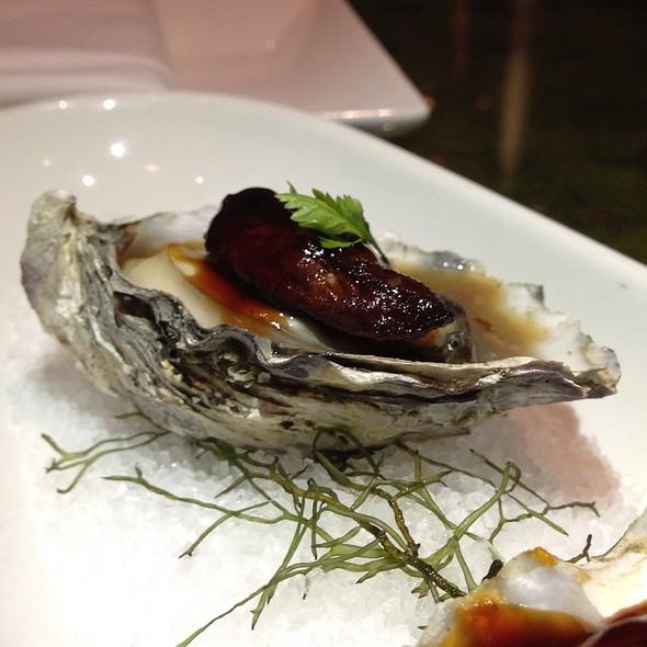 Raw Oysters & Foie Gras - Morimoto Waikiki, Honolulu, HI