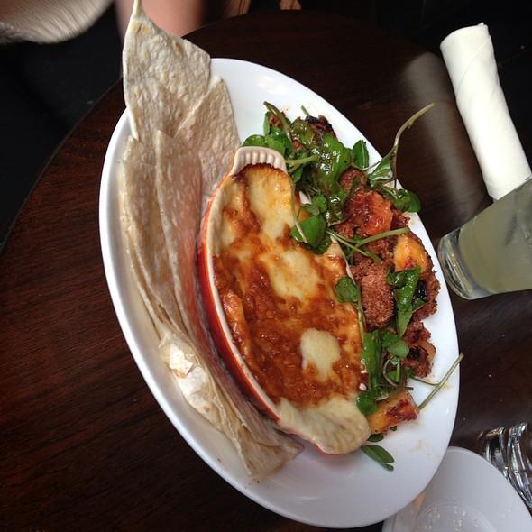 Queso Fundido con Chorizo @ Eastside West Restaurant & Bar