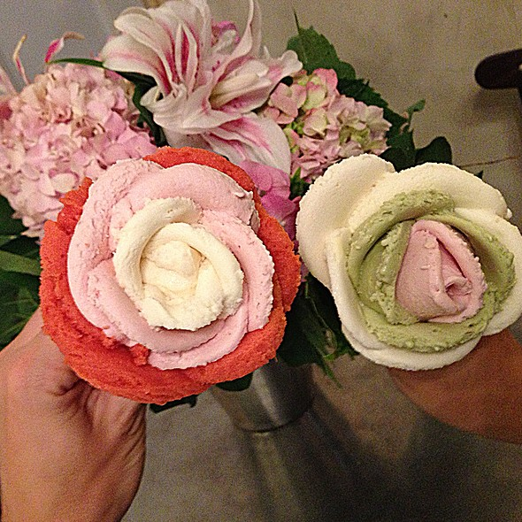 Gelarto Rosa Ice Cream Selection