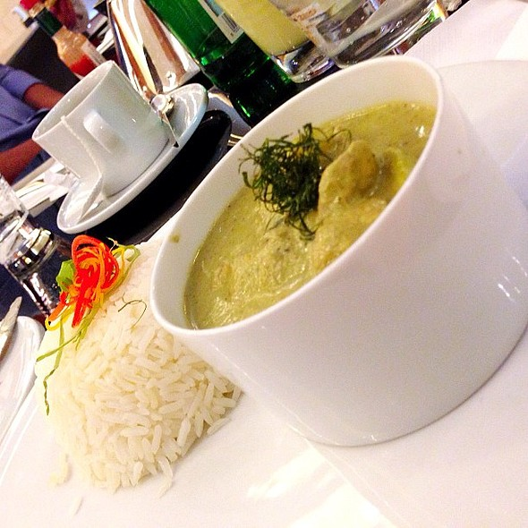 Thai Green Chicken Curry @poshcafe @mall360 @fnbboy @ Posh cafe
