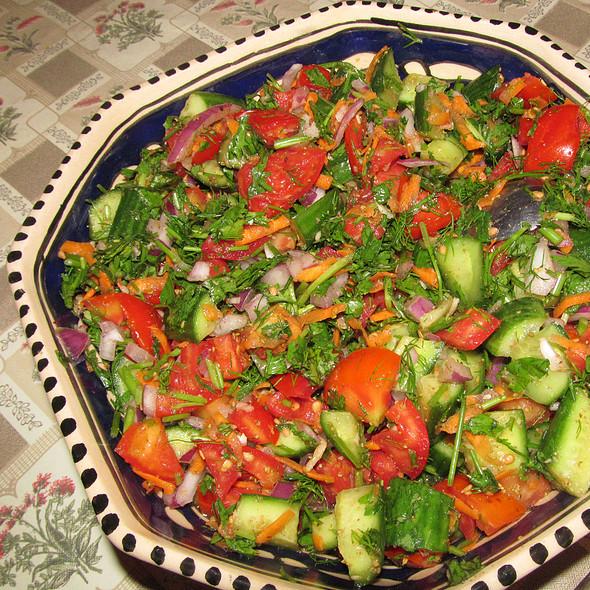 green salad @ Nouran