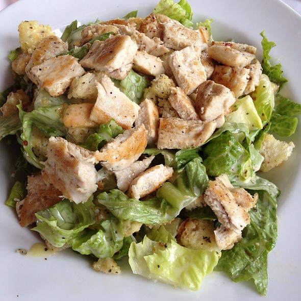 Chicken ceasar salad @ Jaguar Reef Lodge and Spa