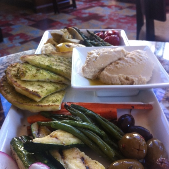 Hummus And Grilled Vegetables - Atwater on Gore Creek, Vail, CO