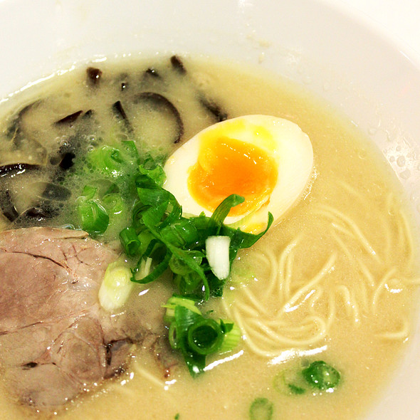 White tonkotsu ramen @ Hakata Maru Ramen