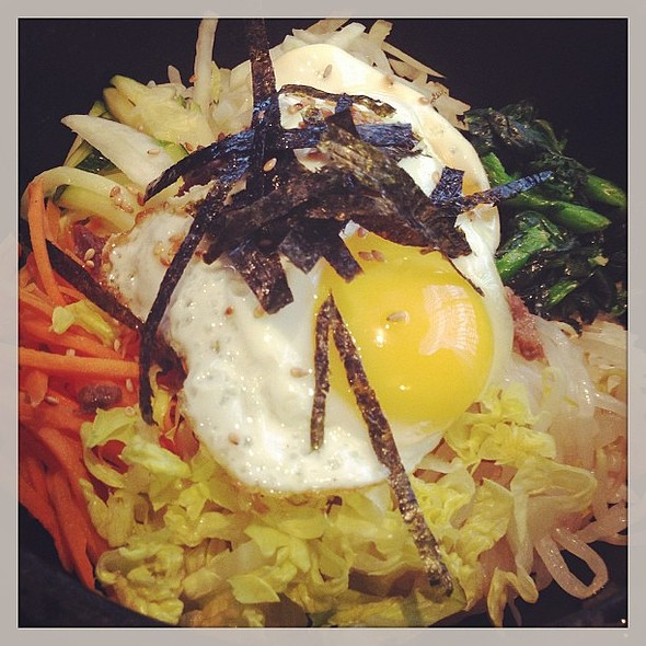 My favorite dish - Bibimbap @ Kyung Sung Korean Restaurant