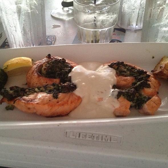 Atlantic Salmon Roulade - Rick's Cafe Boatyard, Indianapolis, IN