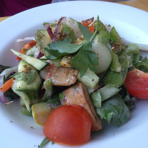 Farmers Market Fattoush - Ellerbe Fine Foods, Fort Worth, TX