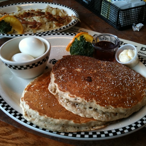 Whole Grain Pancakes @ Black Bear Diner