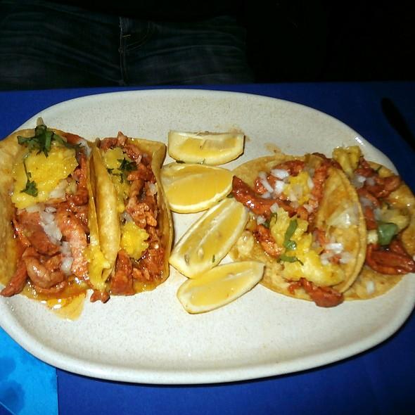 Tacos al Pastor @ La leyenda del Agave