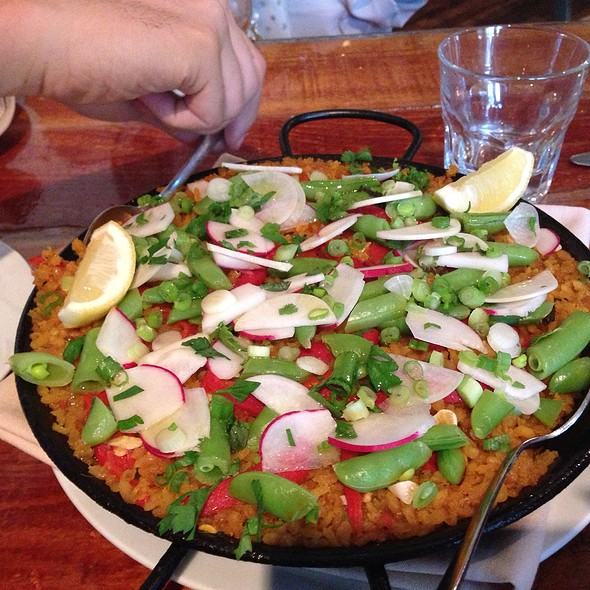 Vegetable Paella - Cafe Aion, Boulder, CO