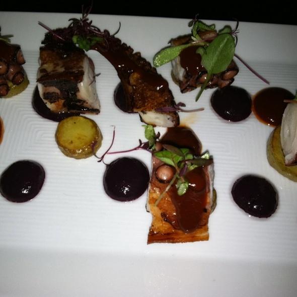 Grilled Octopus Appetizer @ Sushi Samba