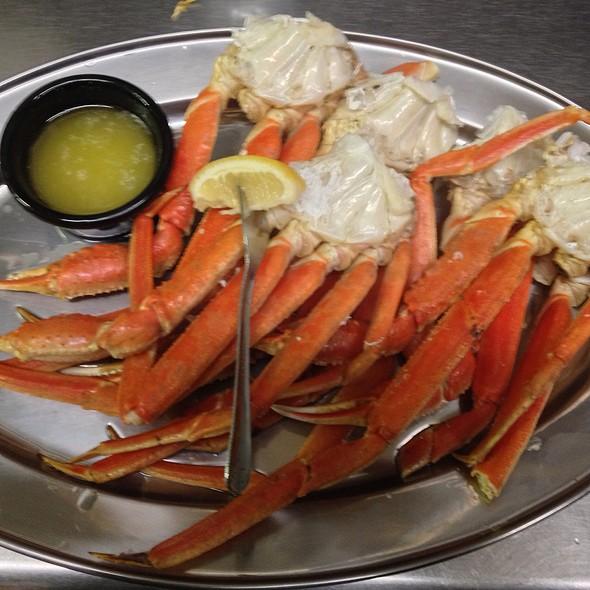 Alaskan Snow Crab Legs @ KrisCroix's family restaurant
