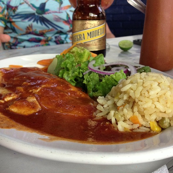 Filete A La Diabla @ Mariscos El Carnal