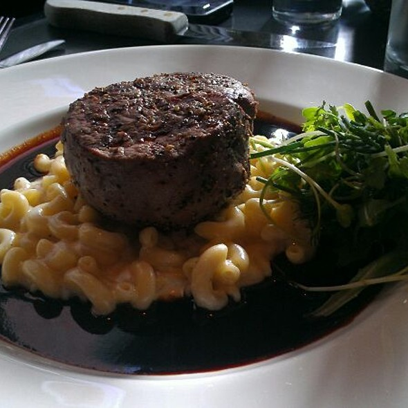 Scholars Aged Filet Mignon @ Scholars Inn Gourmet Cafe-Wine