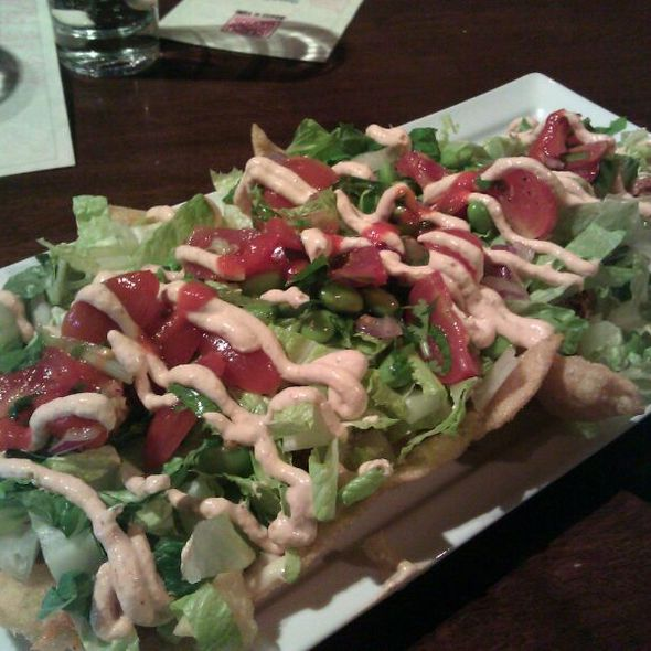 Asian Wonton Nachos @ Suzy Wong's House of Yum