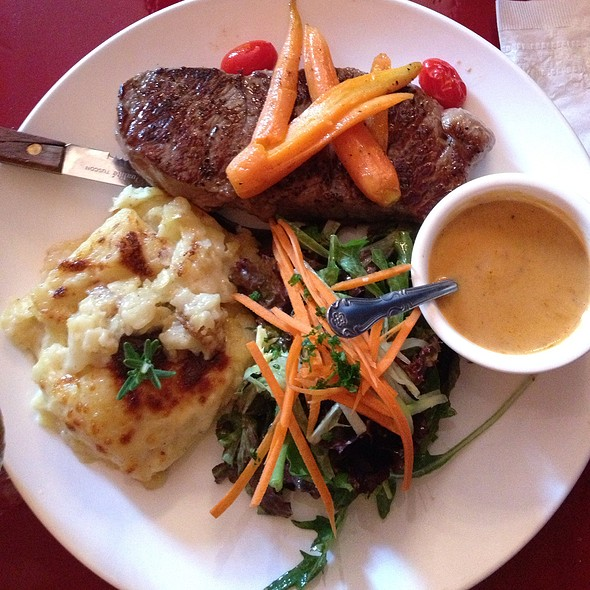 Shell Steak @ Cafe Henri