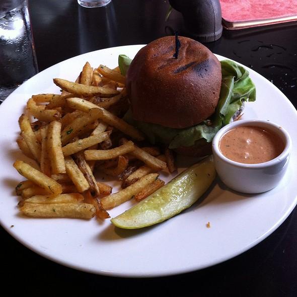 Quinoa Veggie Burger - Urban Solace, San Diego, CA